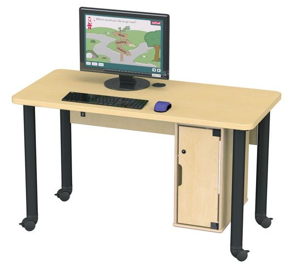 Single Computer Lab Table Products In 2019 Kids Computer