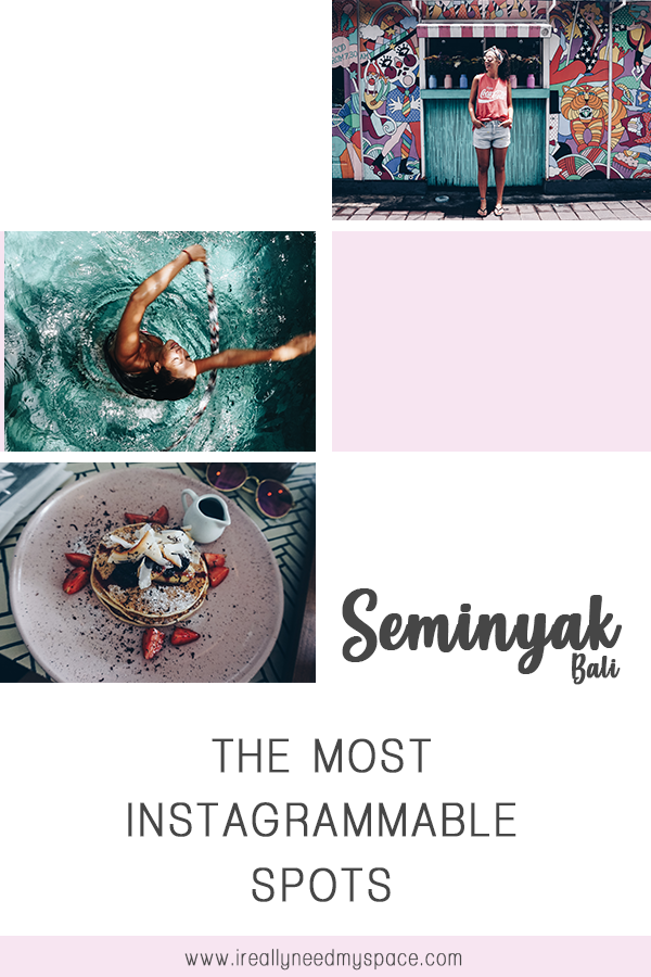 Yay for Seminyak and its pretty colors. #seminyak #bali #instagrammable #instagram #photoshoot #mostinstagrammablespots #colorful #ireallyneedmyspace #travelblogger