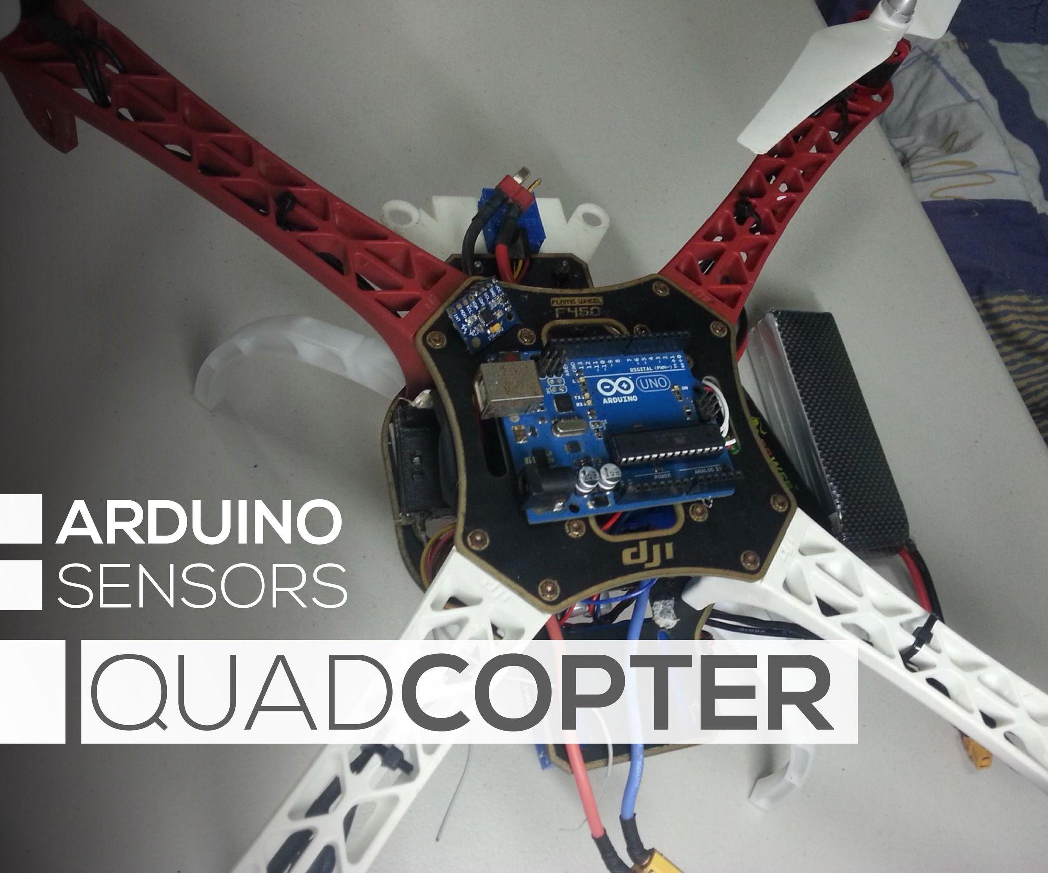 Diy arduino flight controller open source and tech