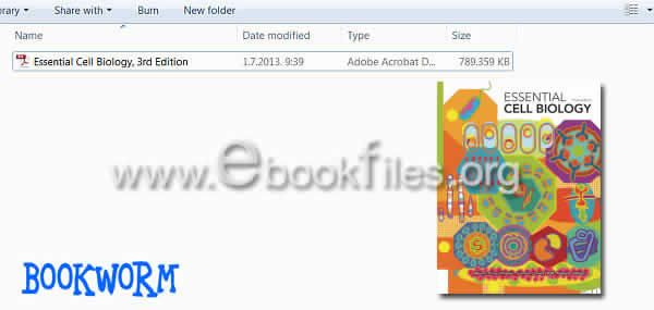 essential cell biology 3rd edition alberts pdf