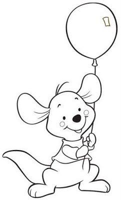 Luccy Craft S Pooh Baby Paginas Para Colorear Para Ninos