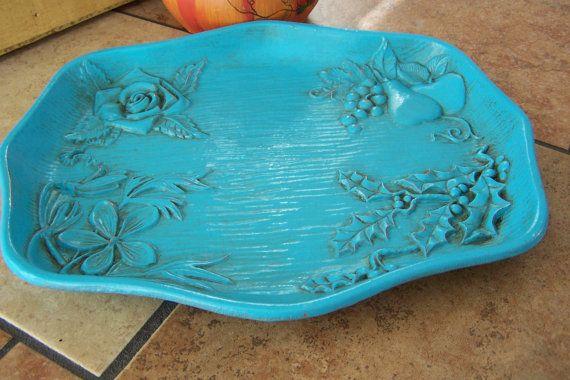 Gorgeous Shabby Chic Decorative Tray Upcycled by GypsyJunk2, $20.00