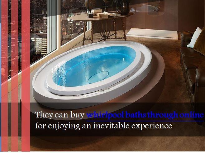 Buy #whirlpoolbaths through #online store of Crystal Bathroom ...