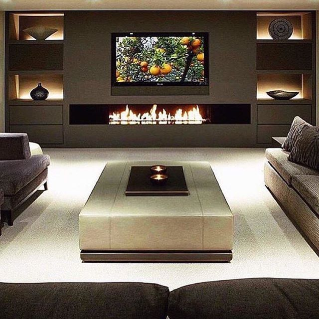 Follow Ig Mansions For More Daily Mansion Images Living Room With Fireplace Cozy Family Rooms Home Theater Rooms