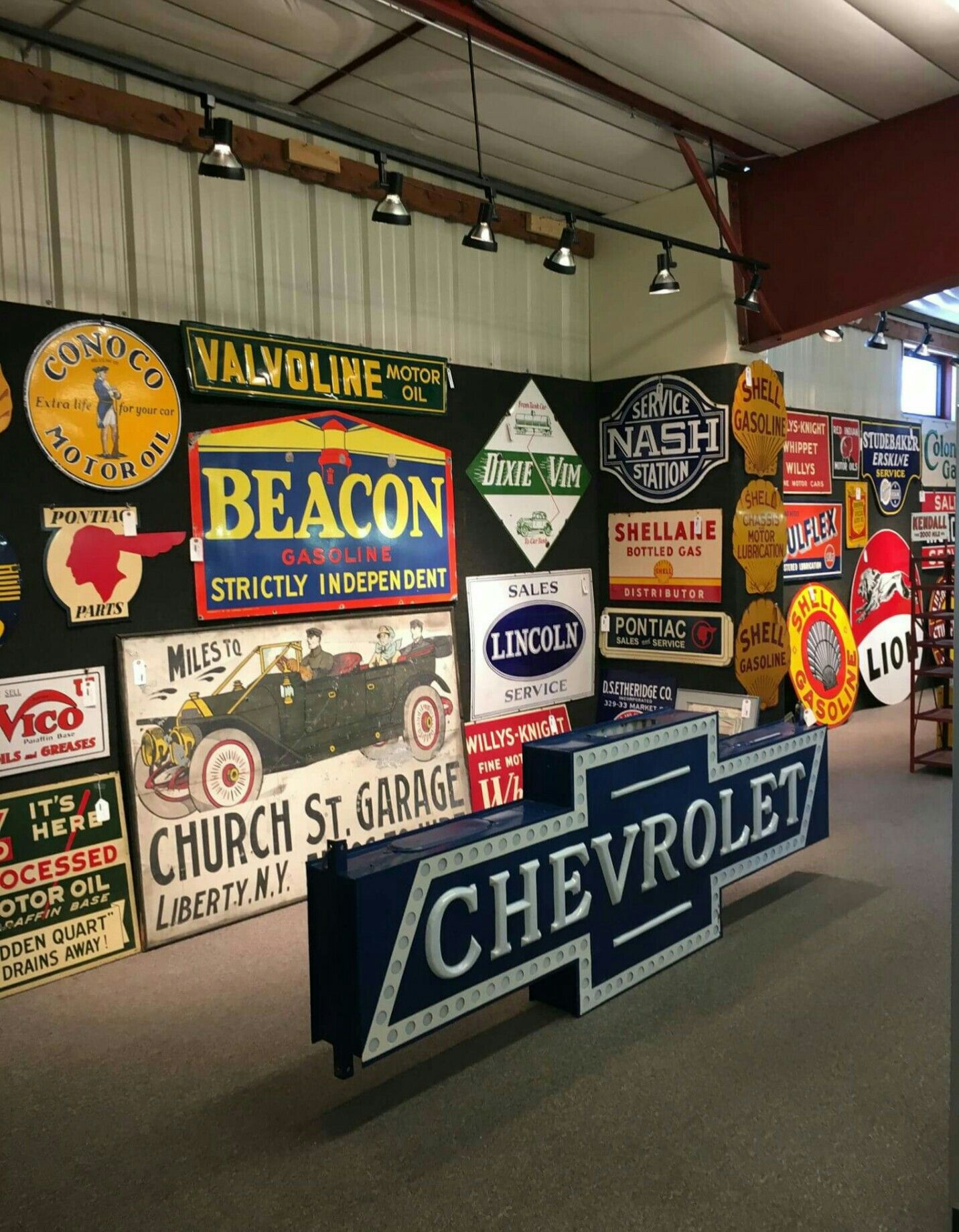 RARE Original Petroliana Automobilia Sign Collection
