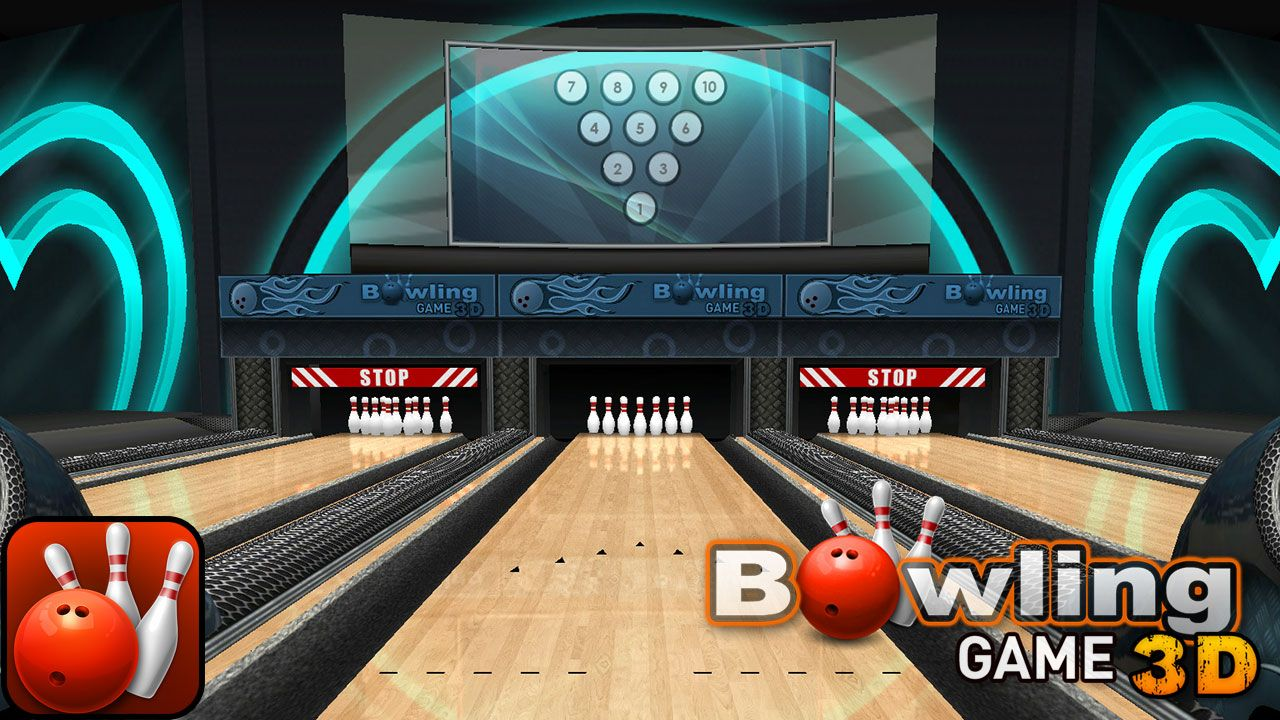 Bowling Game 3D by EivaaGames for iPhone and Android
