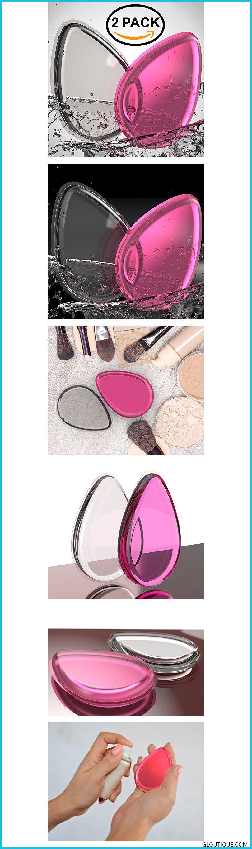 Silicone Makeup Sponge 2Pack Beauty Makeup Blender For