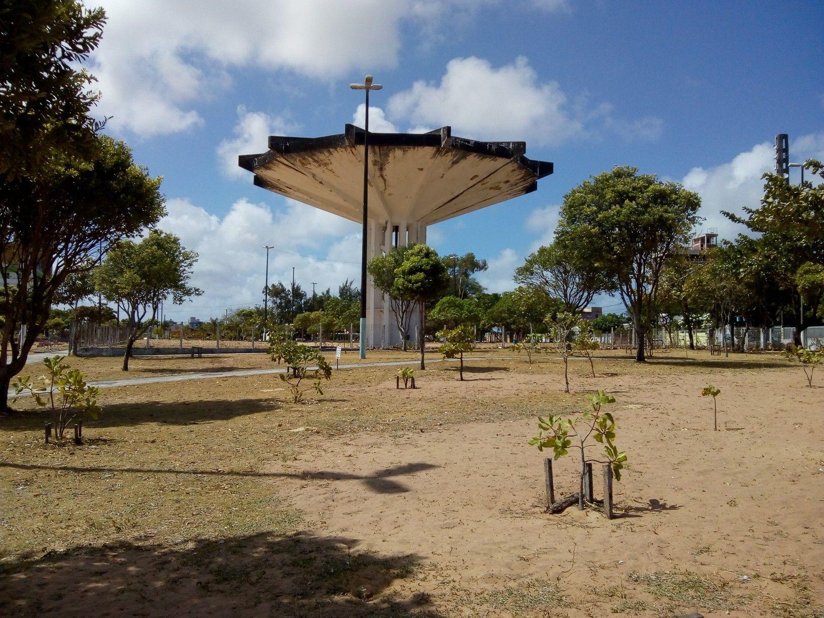 Praça do disco voador – Ponta Negra – Natal Foto: Juciê Borges | Fotos, Praça, Ponta negra natal