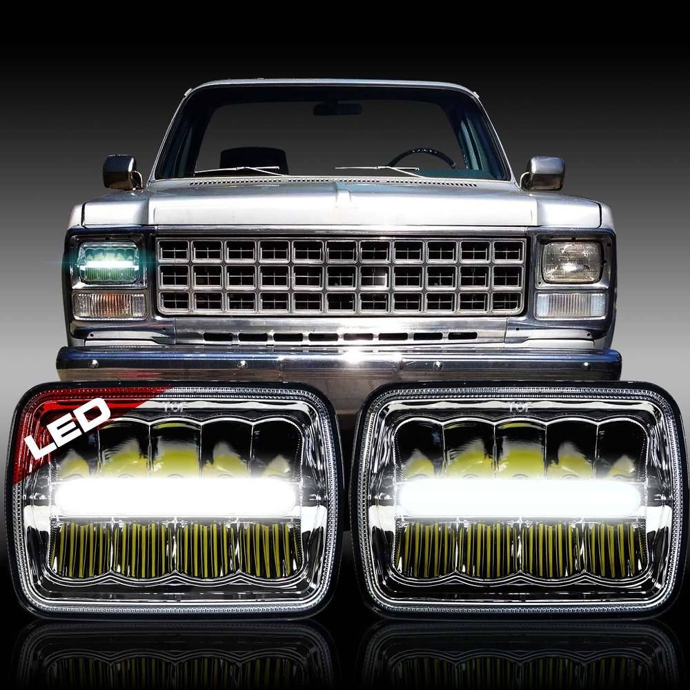 Details About Led Headlight Headlamp Upgrade For Chevrolet