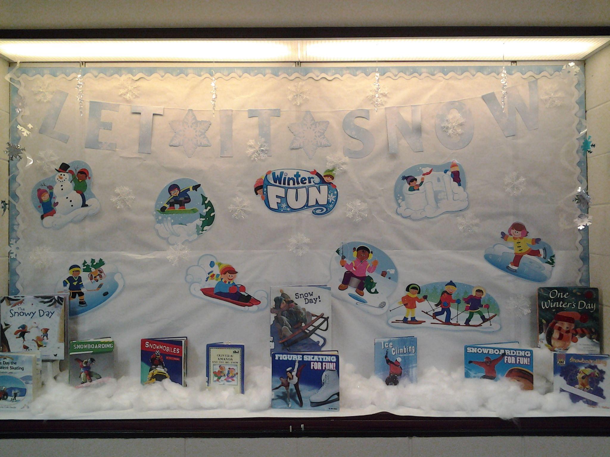 Winter bulletin boards ideas pinterest - Winter Bulletin Board