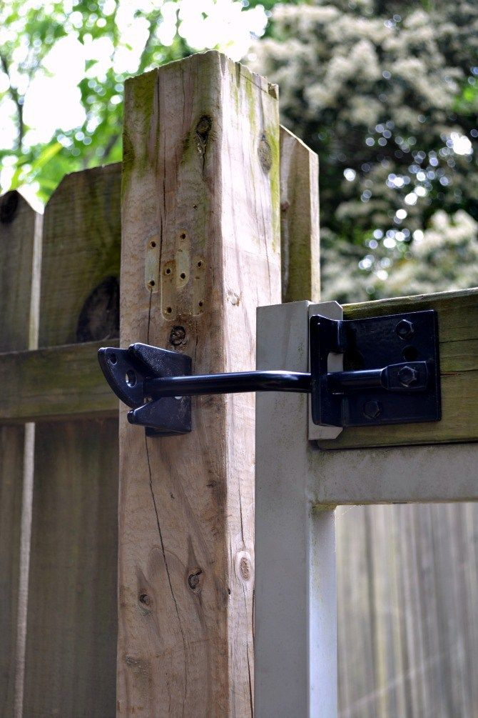 How To Install A Self Adjusting Gate Latch Gate Latch Fence