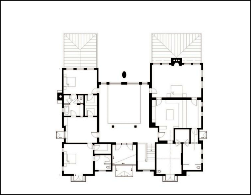 Lisa Vanderpump\'s original house plan: The upper floor – before ...