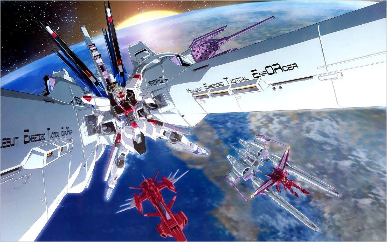 Strike Freedom 4k Wallpaper In 2020 Gundam Wallpapers Gundam Gundam Exia