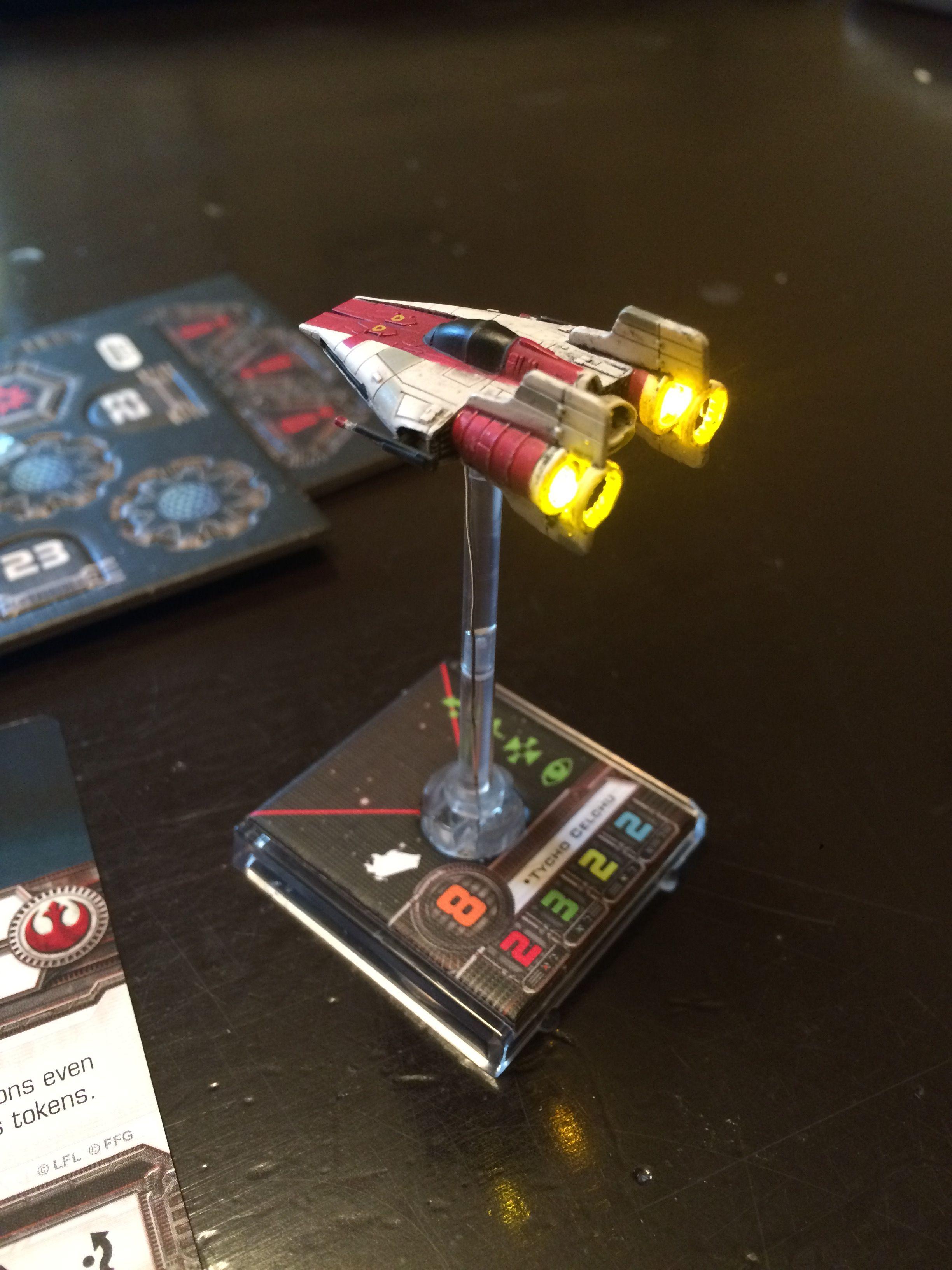 Star Wars X Wing Miniatures Protectorate Figter Pivot Wing Modification X Wing Miniatures X Wing Star Wars Rpg