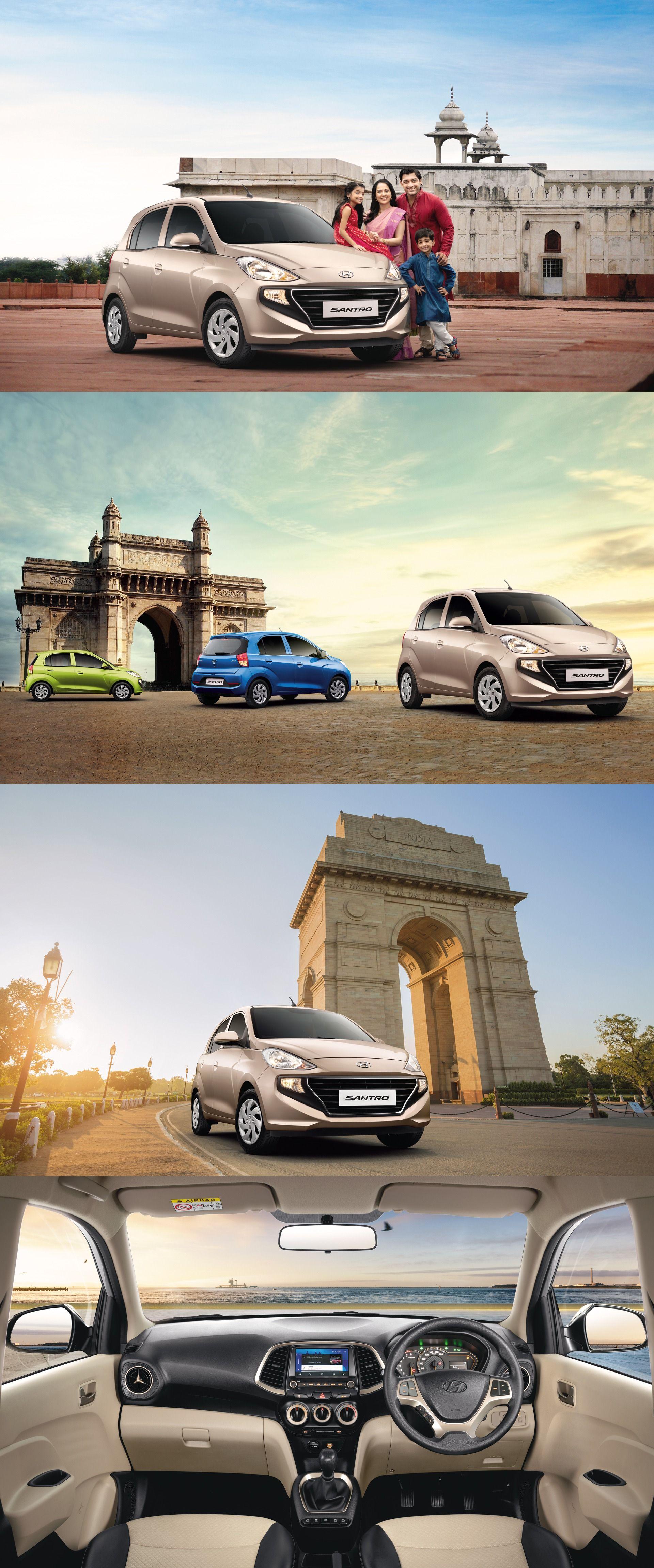 Hyundai Launches the allnew Santro at Rs 3.89 lakh