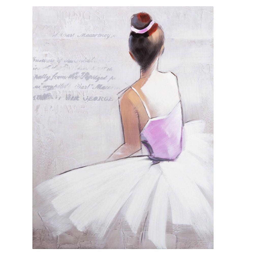 Toile danseuse op ra deco pinterest danseurs toiles et juliette - Tableau oriental maison du monde ...