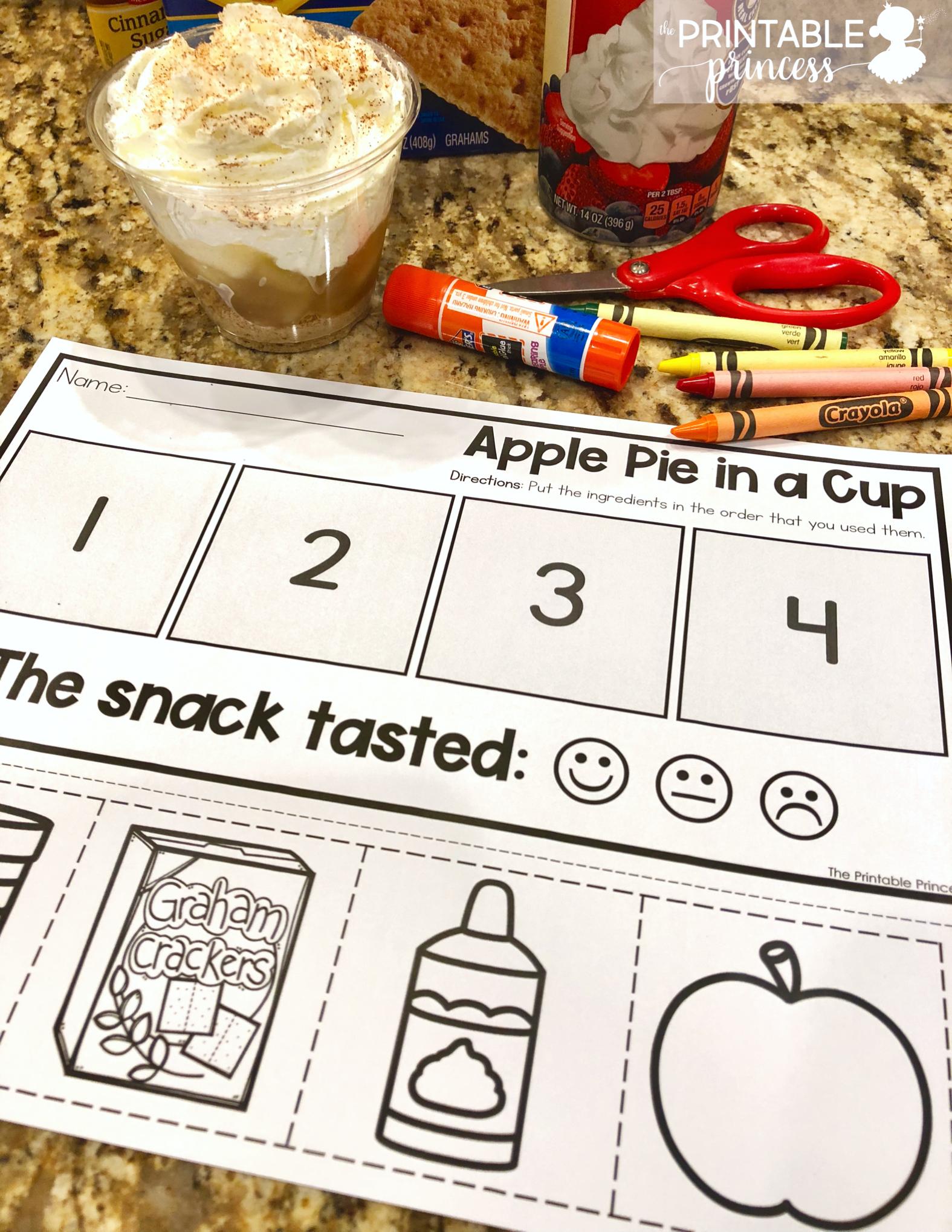 Apple Pie In A Cup Freebie
