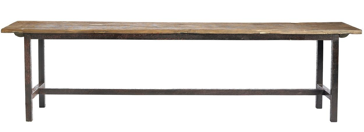 Raw bench wood 100cm - Nordal / ConfidentLiving