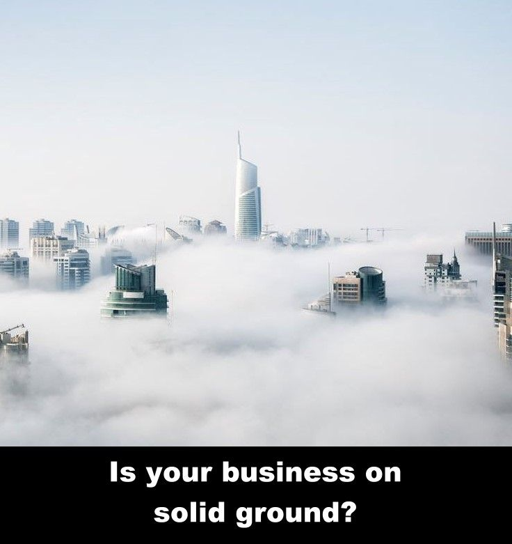If you are not building your business on a firm foundation, you need to make a change.  http://geniuslocalmarketing.com/motivation-manifesto #smallbusinesses #dso #businesscollections #businessar #localmarketing #accountsreceivable