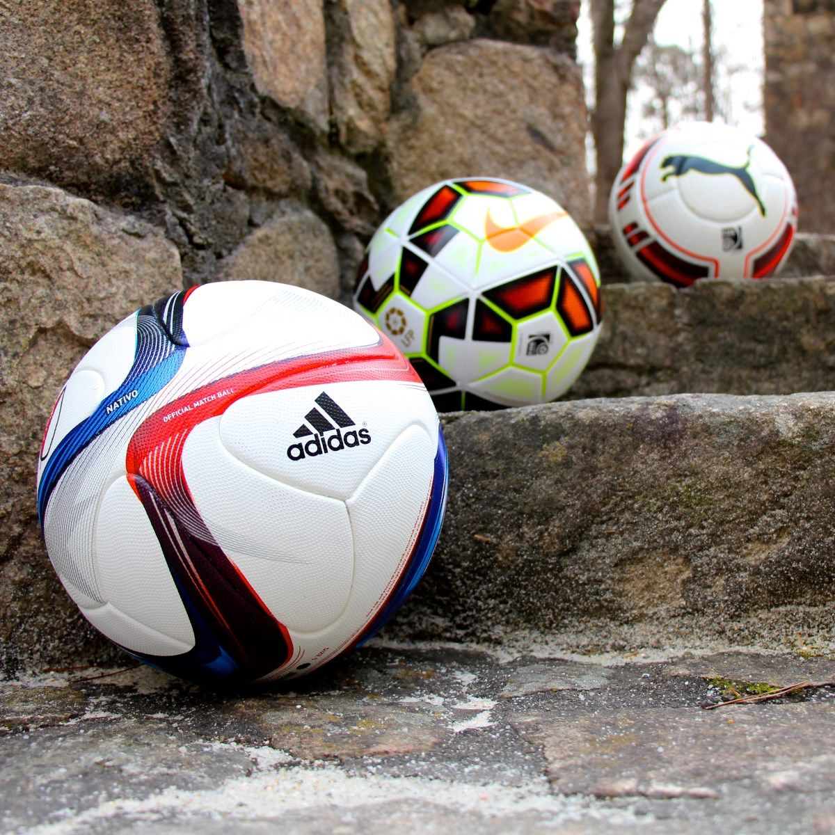 adidas, Nike, or PUMA  Which soccer ball is your favorite ... edef379e107