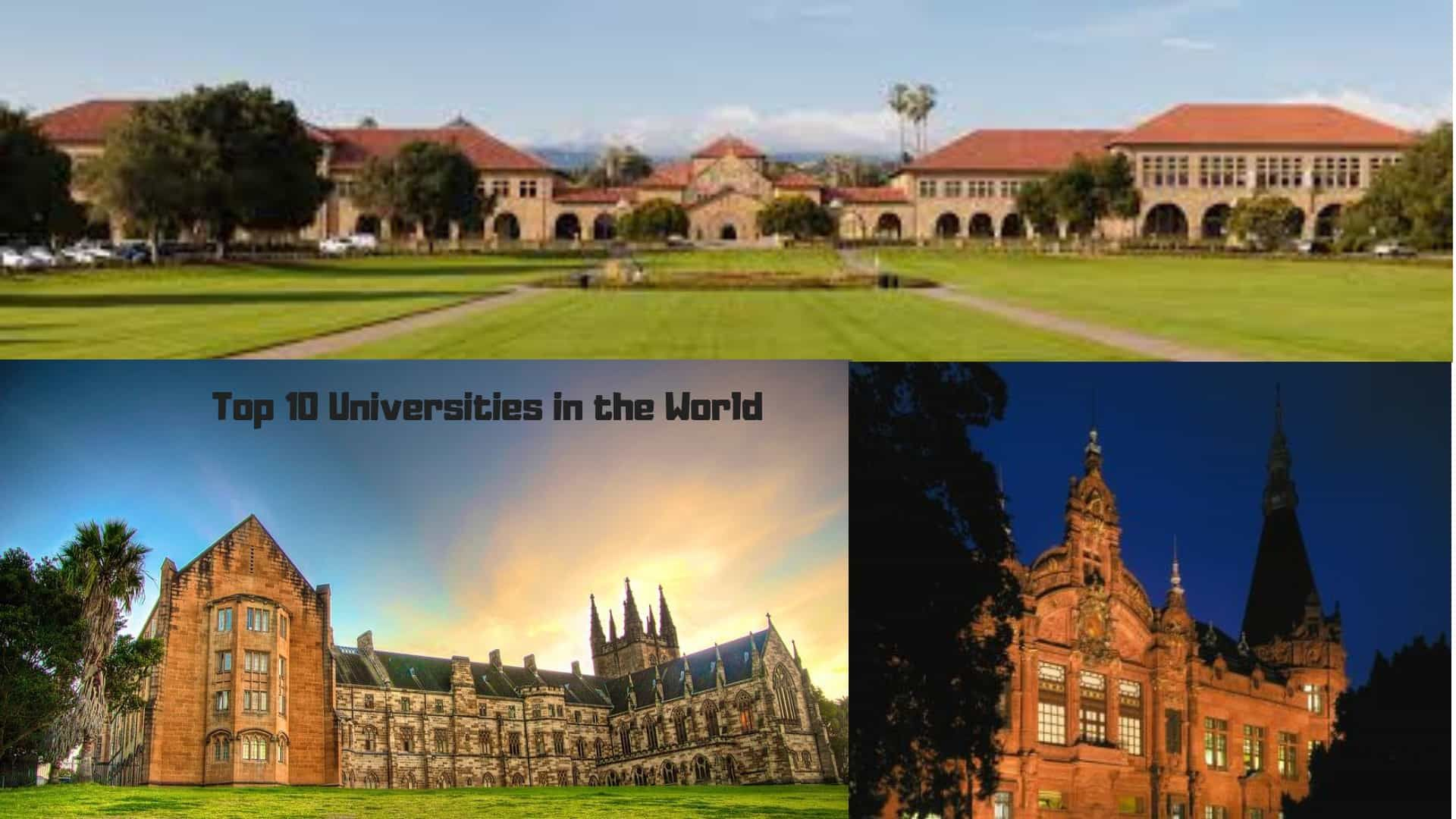 The Post World S Top 10 Universities Appeared First On Educate