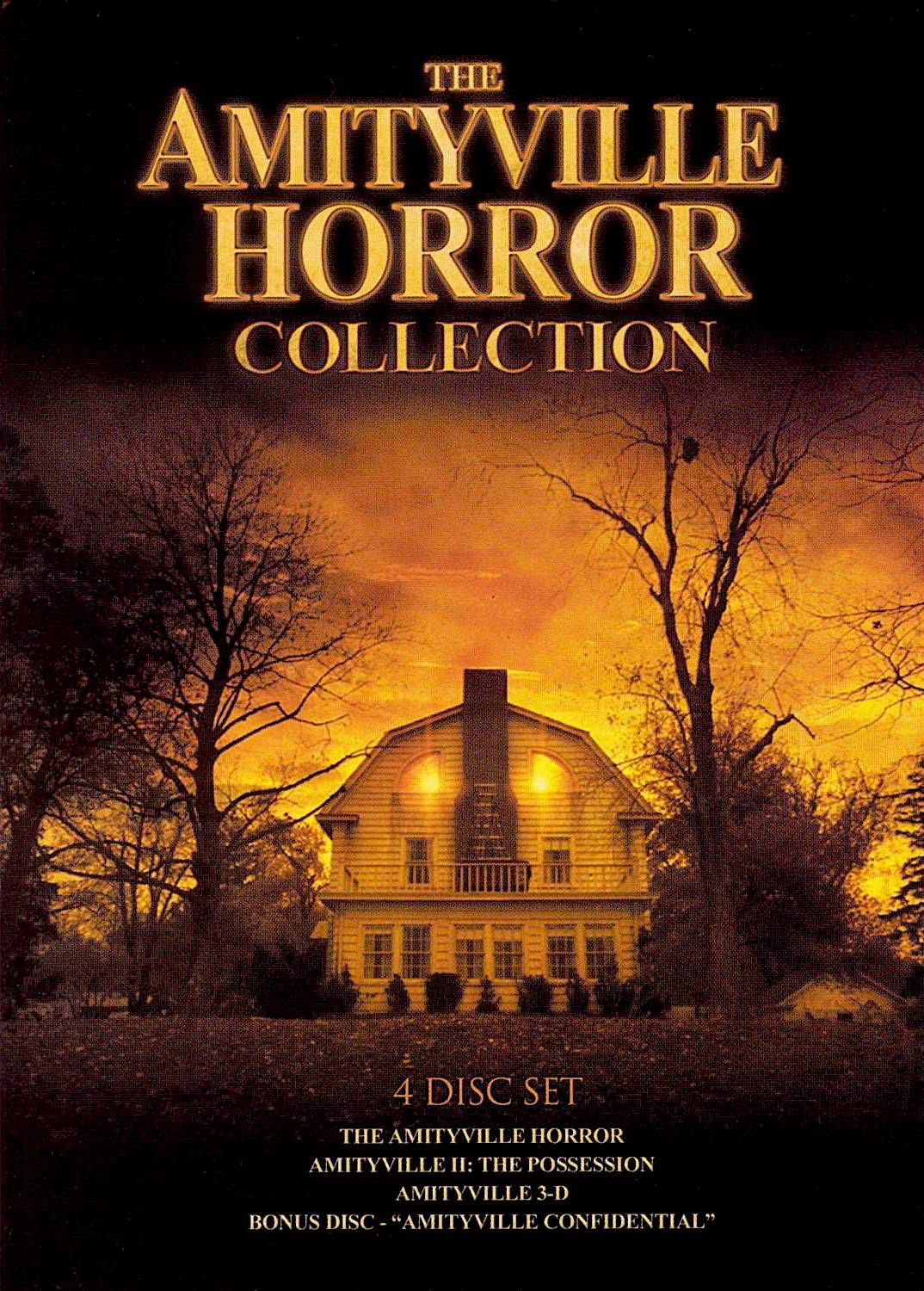 The Amityville Horror Collection Dvd Set Horror Dvds