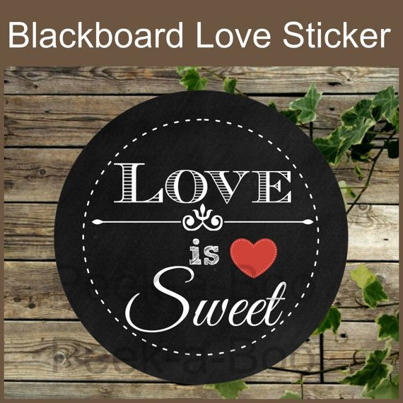 25 Chalkboard Printable Love Tags \/Wedding by Isaiscollection - white paper pdf