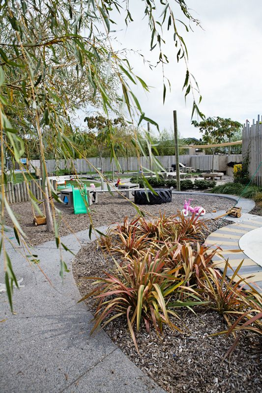 New Shoots Children's Centre, Papamoa, New Zealand. This is the infants'  playspace at this NZ child care centre. What's so stunning about it is not  just the ...