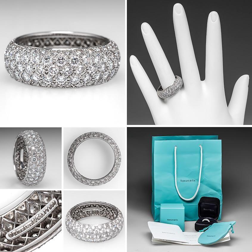 Tiffany Amp Co Estate Etoile Ring Estate Sales Jewelry