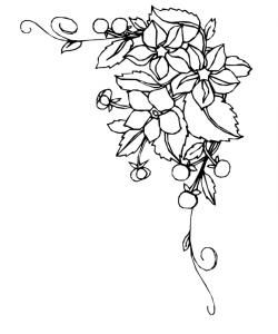 Tattoos Bilder Blumenranken Tattoo Arts Blumenranken Bild Tattoos Blumen Zeichnen