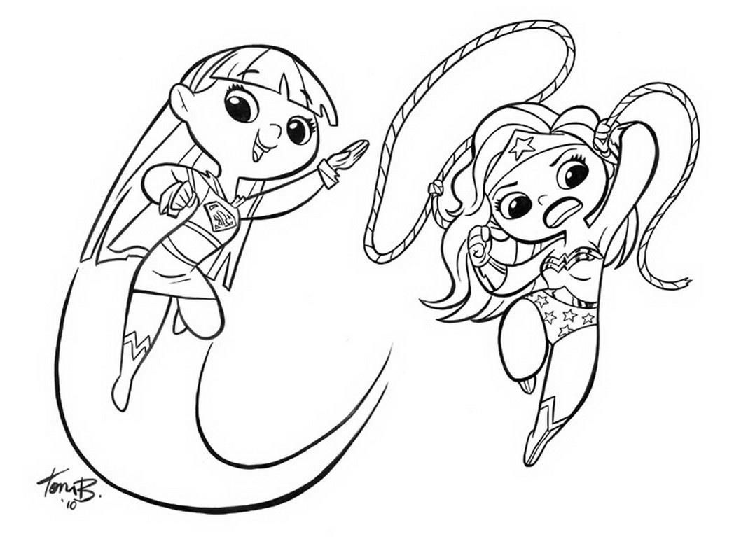 http://colorings.co/supergirl-coloring-pages/ | Colorings | Pinterest