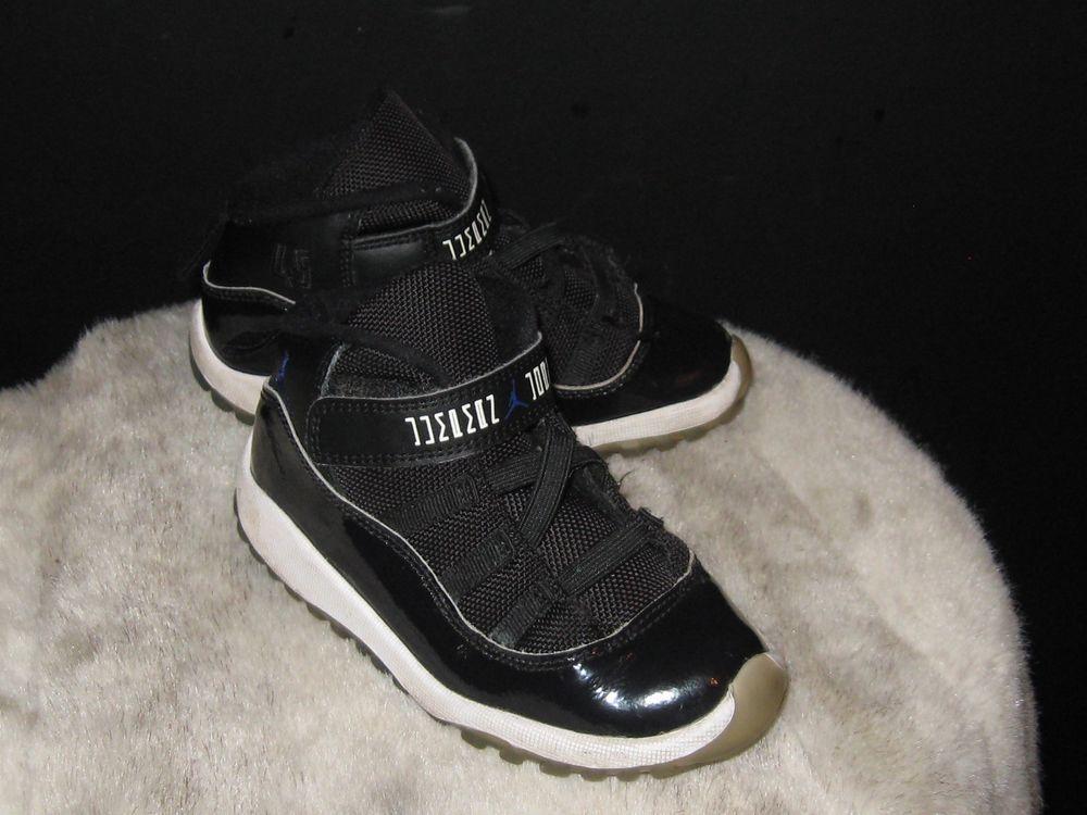 official photos 17680 74c1c Toddler Air Jordan Retro XI 11 Space Jam Sneakers Sz 10C ...