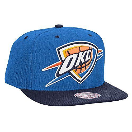 quality design 75e2f d51ae Mitchell  amp  Ness Oklahoma City Thunder Reflective XL Logo Snapback NBA  Cap Mitchell  amp