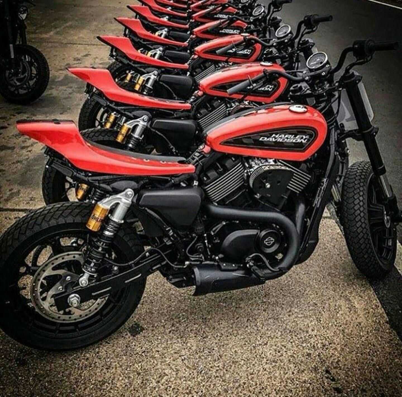 Custom Harley Davidson Xg 750 Street Rod öhlins Rear Shock Absorbers Xr750 Style Seat Cowl Harleydavid Harley Davidson Bikes Harley Davidson Street Harley