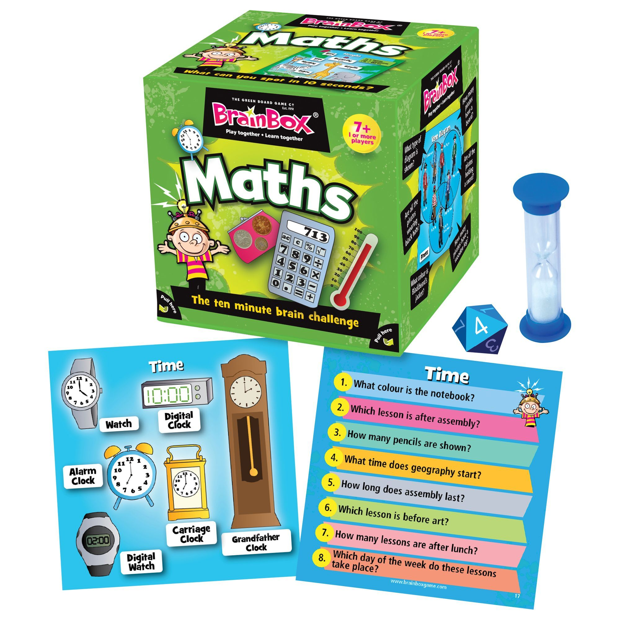 BrainBox Maths Memory Game in 2020 Math for kids, Memory