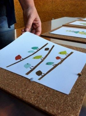 Diy wednesday cork boards in this children inspire design do it yourself series artist rebecca peragine explains how to display art collections without frames solutioingenieria Choice Image