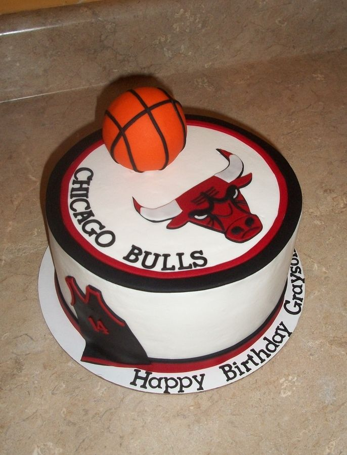 Chicago Bulls Cake Should Say My Name Tho With Images Cake