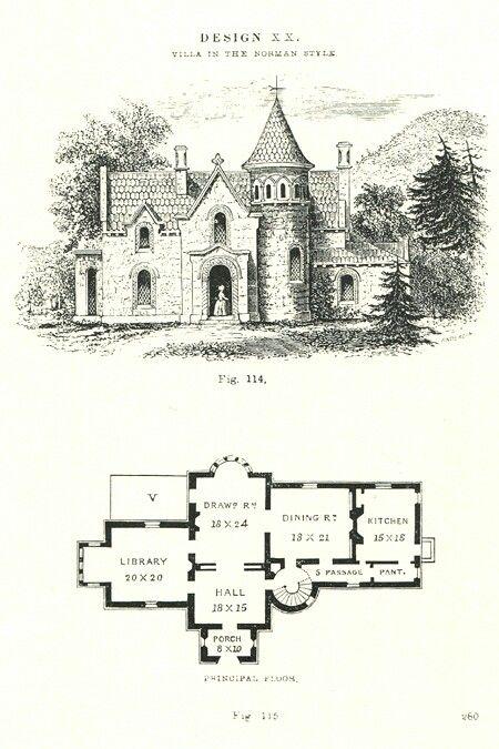 Victorian Castle Floor Plan House Plans Mansion Vintage House Plans
