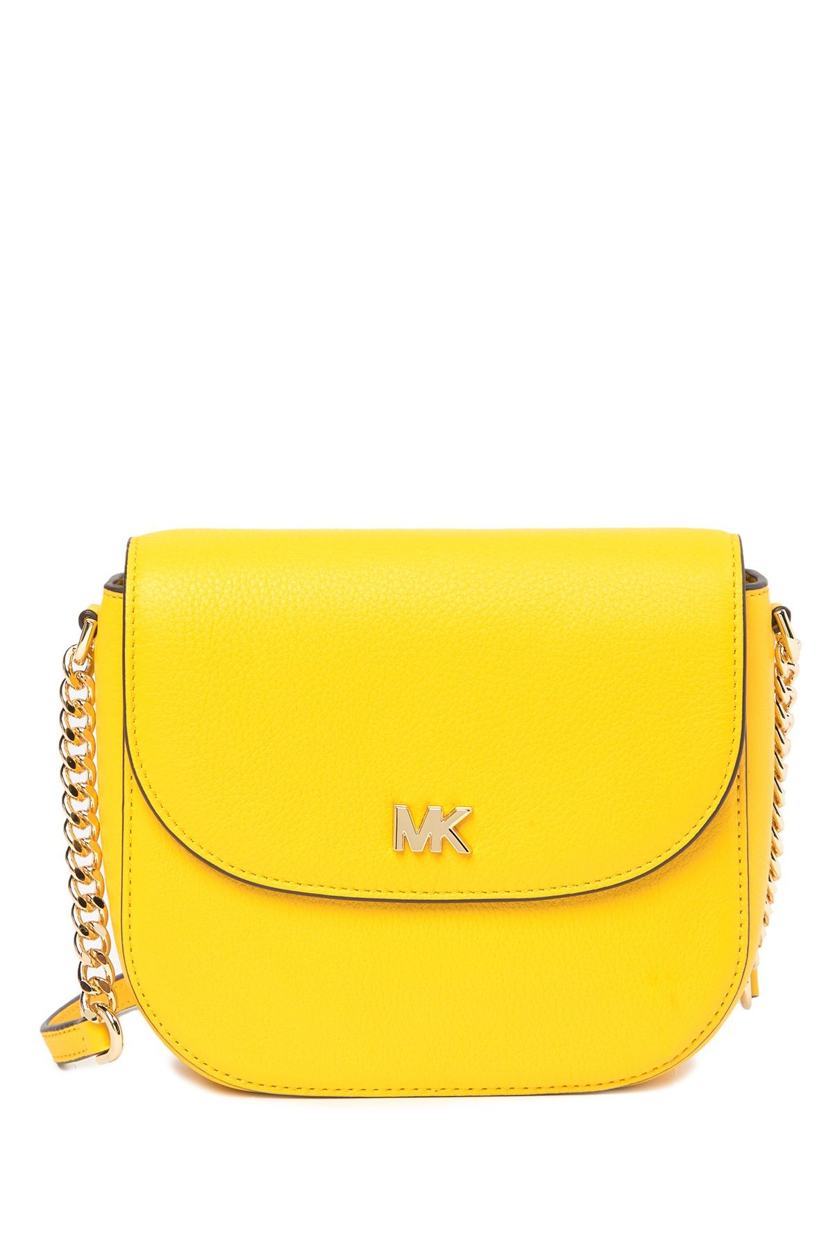 d54a7fe5f9b5 MICHAEL Michael Kors - Mott Half Dome Leather Crossbody Bag is now 53% off.  Free Shipping on orders over  100.