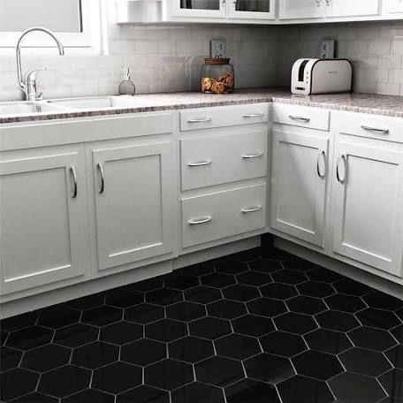 bathroom tile ideas - google search   black tiles kitchen