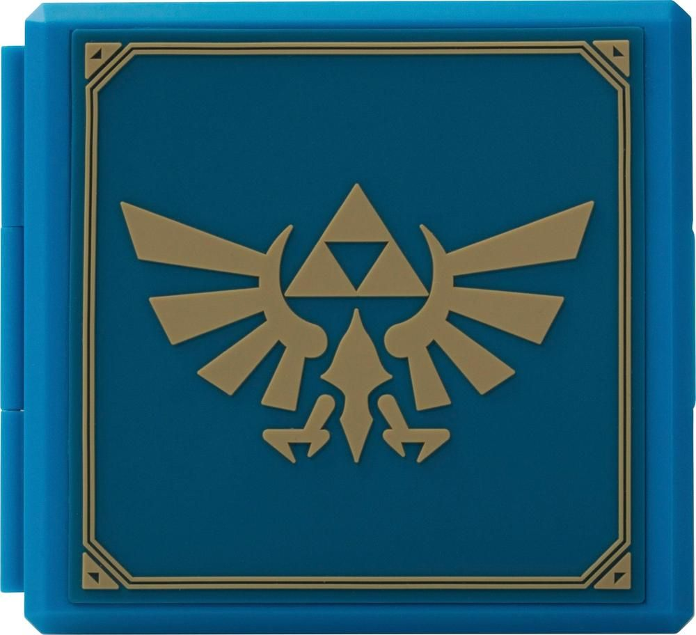 PowerA Zelda Hylian Crest Premium Game Card Case Blue