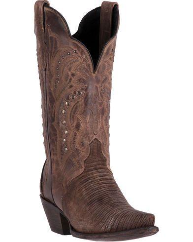 Dan Post Women's Talisman Teju Lizard Cowboy Boots - Snip Toe | Sheplers