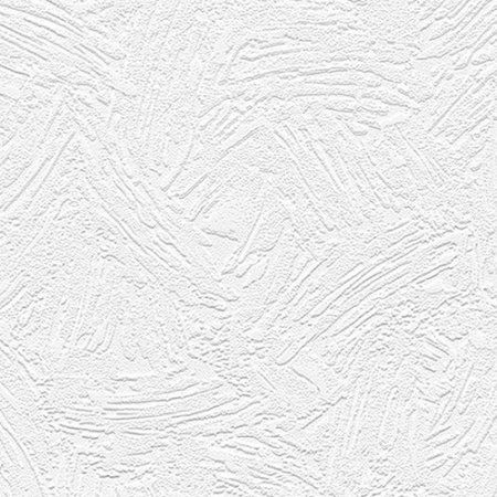 Home Improvement Paintable wallpaper, White textured