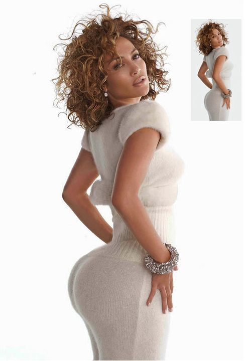 "jlo ass | The ""Photoshopped"" J. Lo Photo Of The Week Award Goes to…"