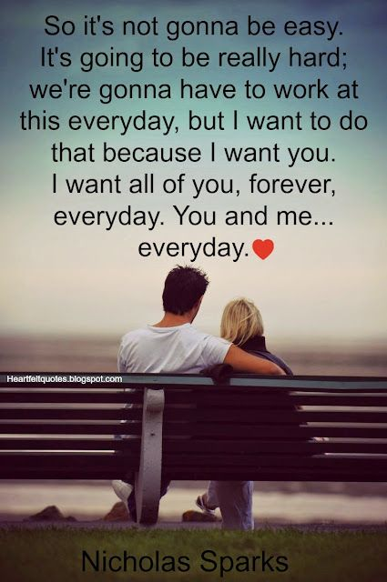 Nicholas Sparks Romantic Love Quotes | Heartfelt Love And Life Quotes