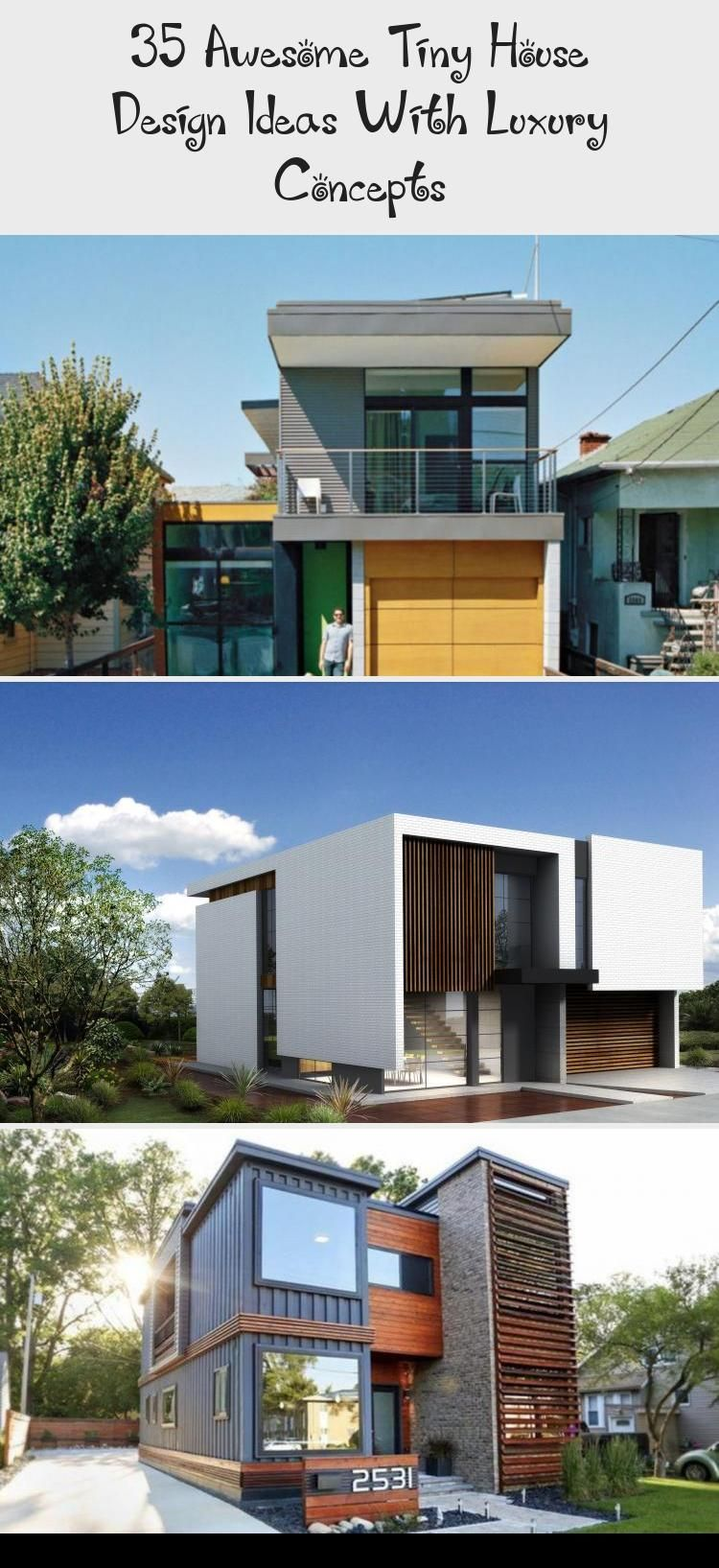 My Blog Small House Architecture Tiny House Builders Small Luxury Homes