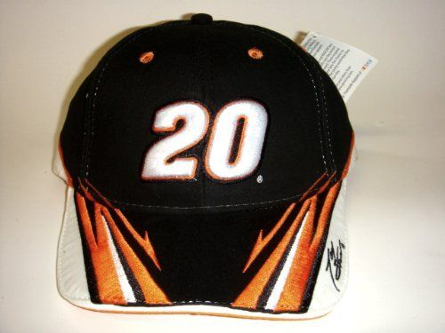 NASCAR  20 Tony Stewart Home Depot Velcro Pit Cap New! by NASCAR.  15.12 7ca5a1e79d04