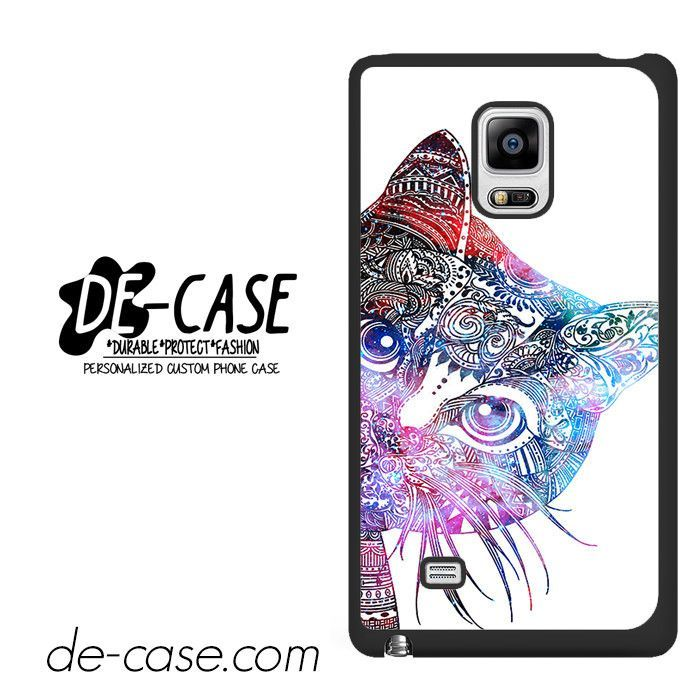 Aztec Cat In Rainbow Color DEAL-1238 Samsung Phonecase Cover For Samsung Galaxy Note Edge