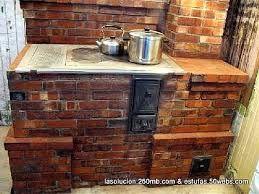 Cocinas Rusticas De Ladrillo Buscar Con Google Cocinas