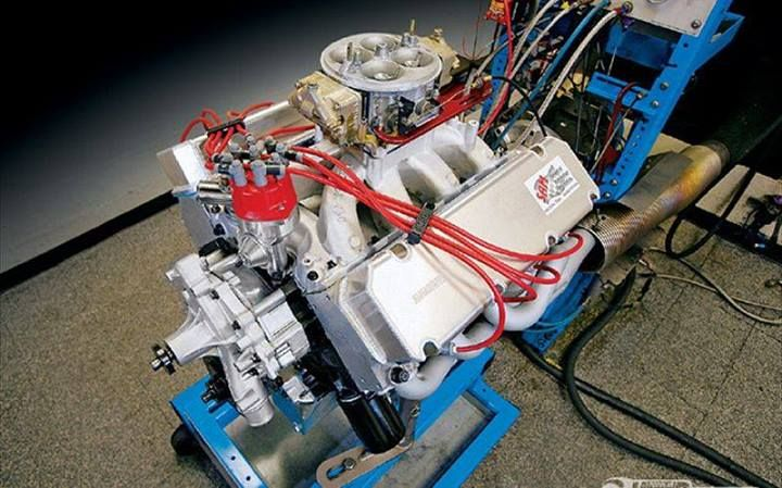 Building A Big Block Ford Using Shelf Parts Popular Hot Rodding Magazine Big Block Performance Engines Ford